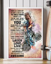 BMX - TODAY IS A GOOD DAY POSTER 16x24 Poster lifestyle-poster-4
