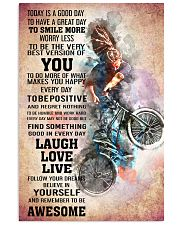 BMX - TODAY IS A GOOD DAY POSTER 24x36 Poster front