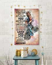 BMX - TODAY IS A GOOD DAY POSTER 24x36 Poster lifestyle-holiday-poster-3