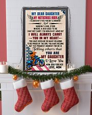 MY DEAR DAUGHTER - MOTOCROSS RIDER 16x24 Poster lifestyle-holiday-poster-4