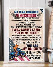 MY DEAR DAUGHTER - MOTOCROSS RIDER 16x24 Poster lifestyle-poster-4