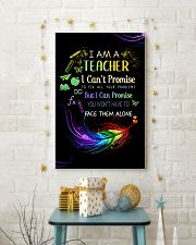 I AM A TEACHER I CAN'T PROMISE poster 11x17 Poster lifestyle-holiday-poster-3