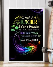 I AM A TEACHER I CAN'T PROMISE poster 11x17 Poster lifestyle-poster-4