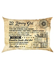 TO MY LIBRARY GIRL - RPILLOWCASE Rectangular Pillowcase back