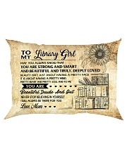 TO MY LIBRARY GIRL - RPILLOWCASE Rectangular Pillowcase front
