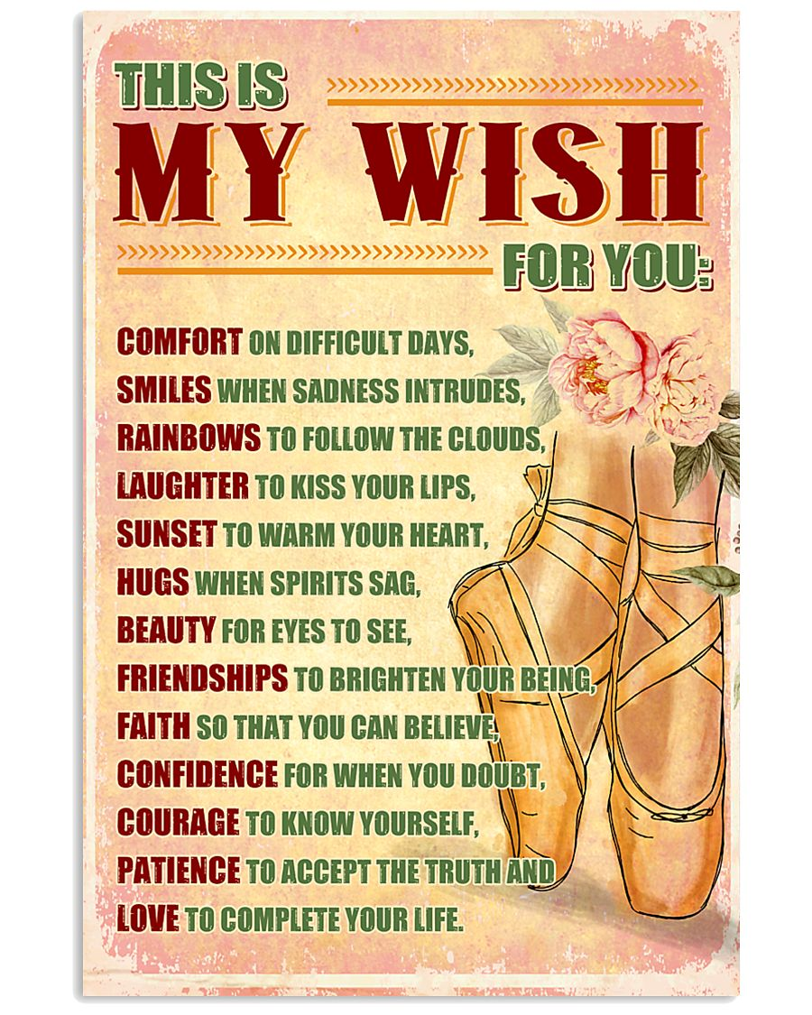 DANCE - THIS IS MY WISH FOR YOU 11x17 Poster