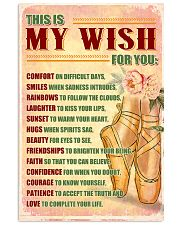 DANCE - THIS IS MY WISH FOR YOU 11x17 Poster front