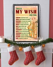 DANCE - THIS IS MY WISH FOR YOU 11x17 Poster lifestyle-holiday-poster-4