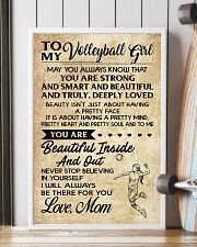 TO MY volleyball girl- mom 16x24 Poster lifestyle-poster-4
