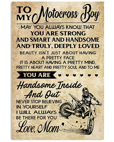 TO MY MOTOCROSS BOY - MOM