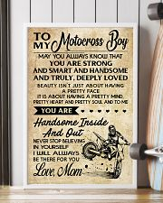 TO MY MOTOCROSS BOY - MOM 16x24 Poster lifestyle-poster-4