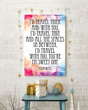 YOUR WIFE-I'D TRAVEL THICK AND WITH YOU 16x24 Poster lifestyle-holiday-poster-3