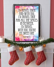 YOUR WIFE-I'D TRAVEL THICK AND WITH YOU 16x24 Poster lifestyle-holiday-poster-4
