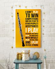 OBOE - I DON'T PLAY TO WIN COMPETITIONS 11x17 Poster lifestyle-holiday-poster-3