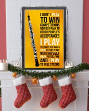 OBOE - I DON'T PLAY TO WIN COMPETITIONS 11x17 Poster lifestyle-holiday-poster-4