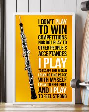 OBOE - I DON'T PLAY TO WIN COMPETITIONS 11x17 Poster lifestyle-poster-4