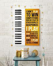 PIANO - I DON'T PLAY TO WIN COMPETITIONS 11x17 Poster lifestyle-holiday-poster-3