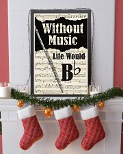 WITHOUT MUSIC LIFE WOULD - FLUTE POSTER 11x17 Poster lifestyle-holiday-poster-4