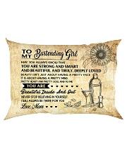 TO MY HAIRSTYLE GIRL - RPILLOWCASE Rectangular Pillowcase back