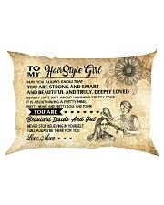 TO MY HAIRSTYLE GIRL - RPILLOWCASE Rectangular Pillowcase front