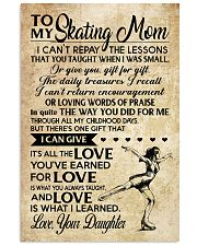 Skating - Loving Words Poster SKY 11x17 Poster front