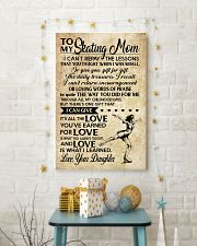 Skating - Loving Words Poster SKY 11x17 Poster lifestyle-holiday-poster-3