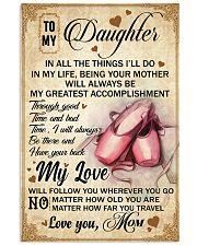 Ballet Dance - My Love Poster Blanket SKY 16x24 Poster front