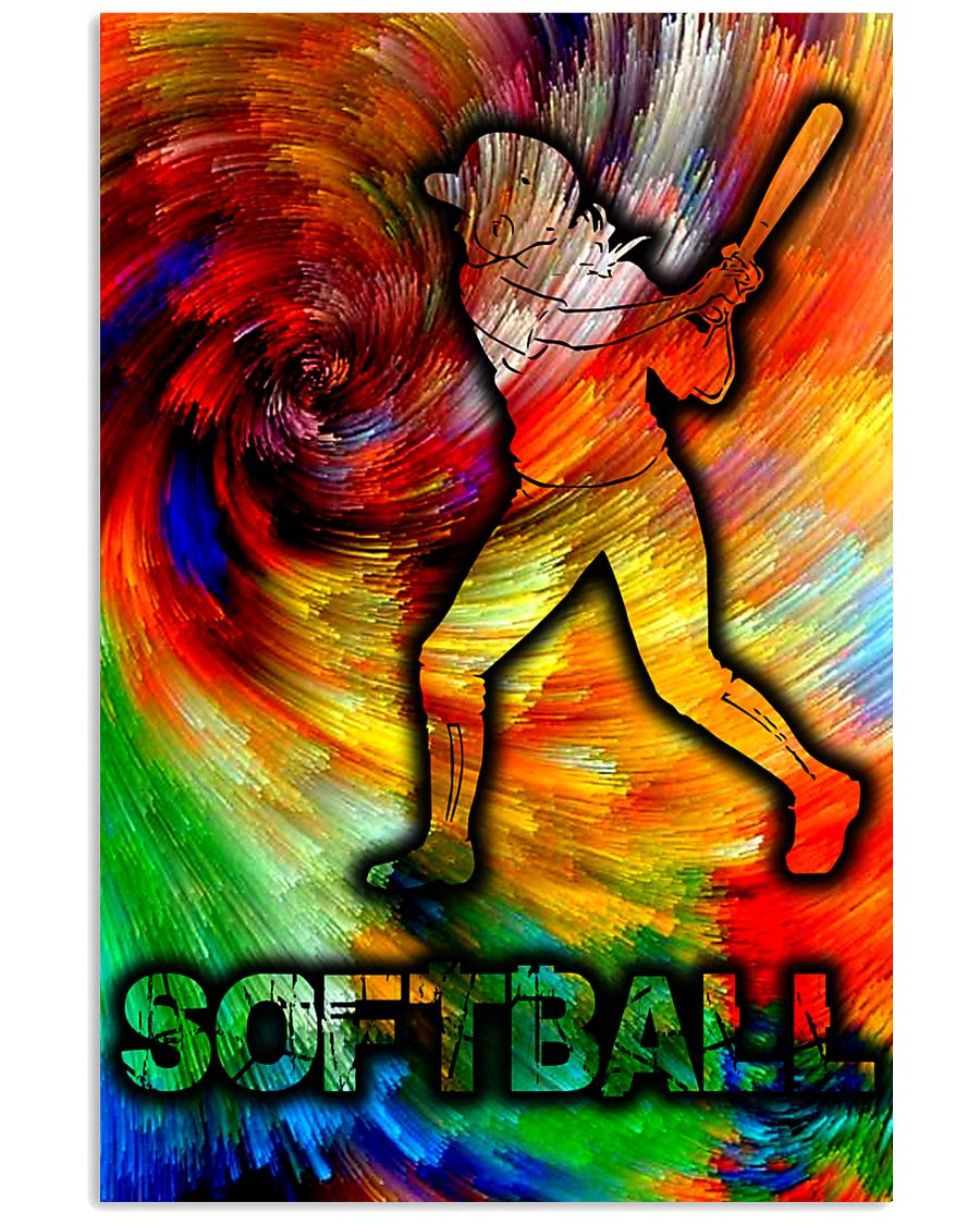 SOFTABLL ART FULL COLOR  16x24 Poster