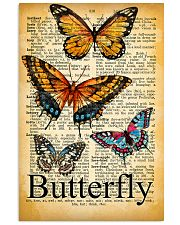007 Butterfly Mixed Parchment Poster STAR 11x17 Poster front