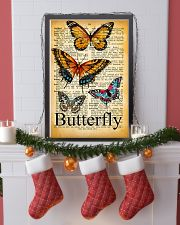 007 Butterfly Mixed Parchment Poster STAR 11x17 Poster lifestyle-holiday-poster-4
