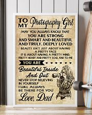 TO MY PHOTOGRAPHY GIRL DAD 16x24 Poster lifestyle-poster-4