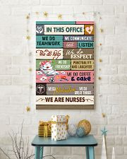 IN THIS OFFICE - WE ARE NURSES 11x17 Poster lifestyle-holiday-poster-3