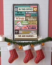 IN THIS OFFICE - WE ARE NURSES 11x17 Poster lifestyle-holiday-poster-4