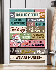 IN THIS OFFICE - WE ARE NURSES 11x17 Poster lifestyle-poster-4