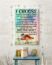 I CHOOSE TO LIVE BY CHOICE skating 11x17 Poster lifestyle-holiday-poster-3