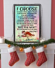 I CHOOSE TO LIVE BY CHOICE skating 11x17 Poster lifestyle-holiday-poster-4
