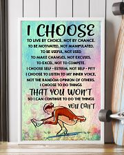I CHOOSE TO LIVE BY CHOICE skating 11x17 Poster lifestyle-poster-4