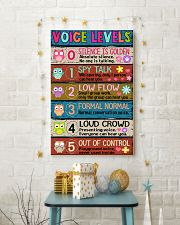 TEACHER - VOICE LEVELS POSTER 11x17 Poster lifestyle-holiday-poster-3