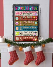 TEACHER - VOICE LEVELS POSTER 11x17 Poster lifestyle-holiday-poster-4