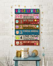 TEACHER - VOICE LEVELS POSTER 16x24 Poster lifestyle-holiday-poster-3