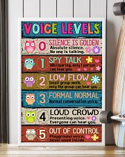 TEACHER - VOICE LEVELS POSTER 24x36 Poster lifestyle-poster-4
