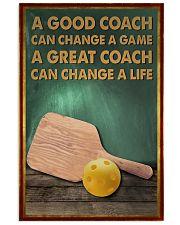 pickleball - a good coach poster - SR 11x17 Poster front