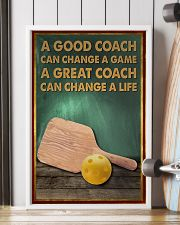 pickleball - a good coach poster - SR 11x17 Poster lifestyle-poster-4