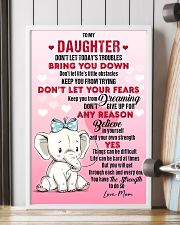 ELEPHANT - DON'T LET TODAY'S TROUBLES POSTER 11x17 Poster lifestyle-poster-4