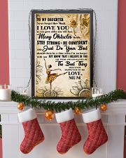 2 TO MY DAUGHTER - I LOVE YOU - Dance 11x17 Poster lifestyle-holiday-poster-4