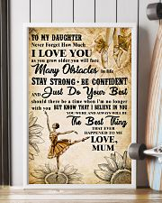 2 TO MY DAUGHTER - I LOVE YOU - Dance 11x17 Poster lifestyle-poster-4