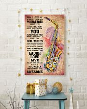 SAXOPHONE - TODAY IS A GOOD DAY POSTER 11x17 Poster lifestyle-holiday-poster-3