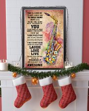 SAXOPHONE - TODAY IS A GOOD DAY POSTER 11x17 Poster lifestyle-holiday-poster-4