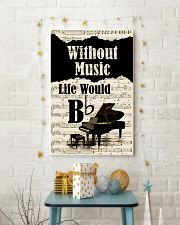 PIANO - WITHOUT MUSIC LIFE WOULD POSTER 11x17 Poster lifestyle-holiday-poster-3