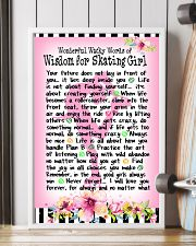 SKATING GIRL - WONDERFUL WACKY WORDS 11x17 Poster lifestyle-poster-4